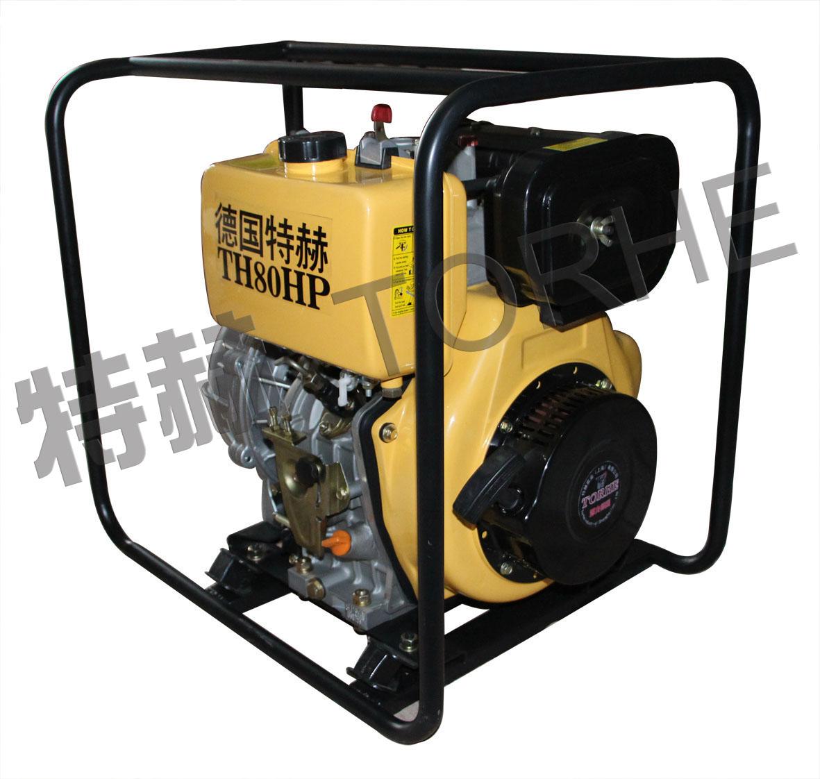 3寸柴油应急高压自吸水泵,70米高扬程柴油抽水机组
