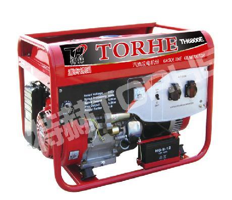5KW三相电启动汽油发电机组