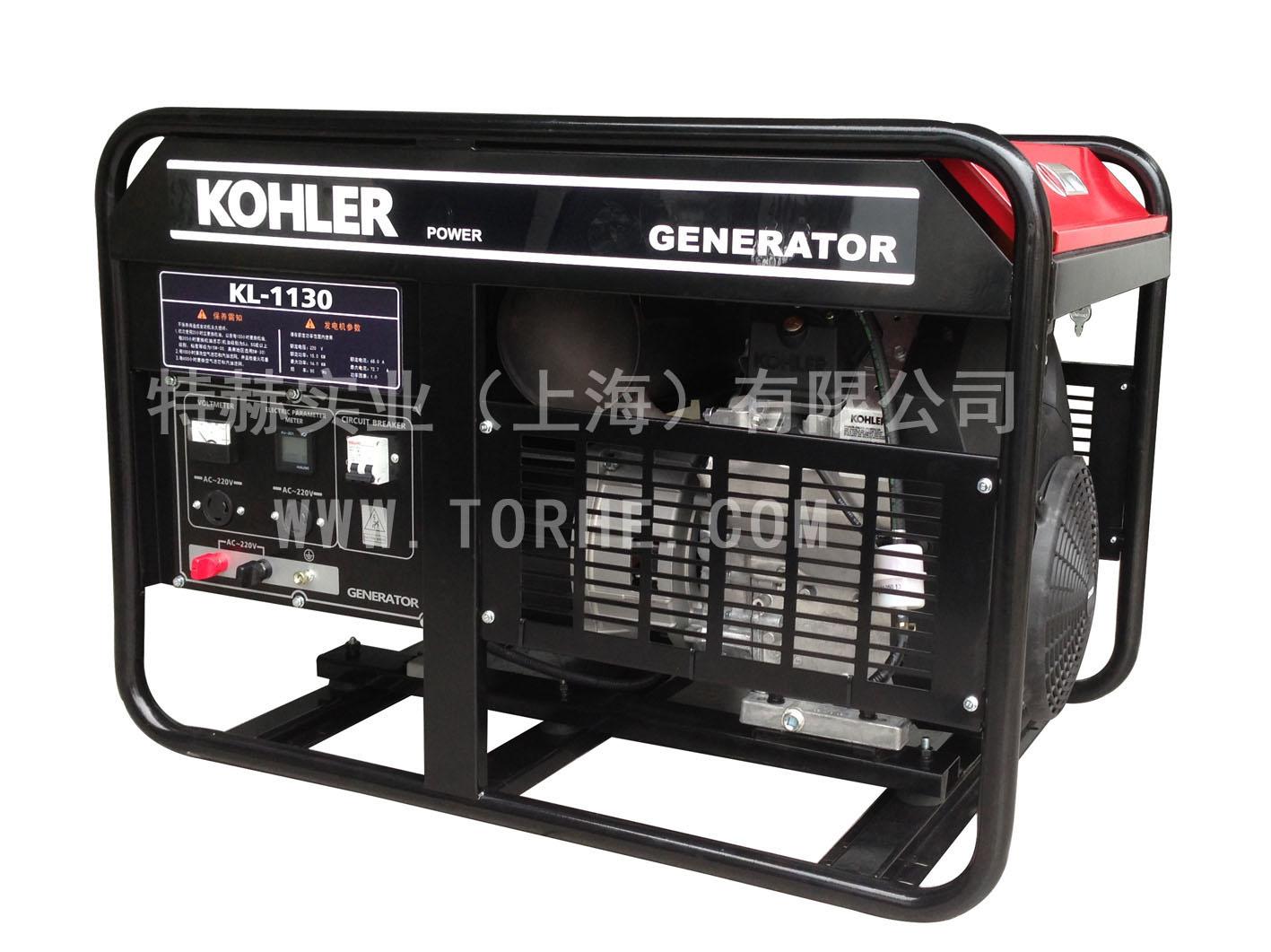科勒动力12KW大功率汽油发电机组 家用应急单相220V发电