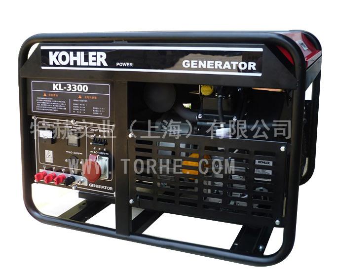 15KW三相380V原装进口美国科勒动力风冷汽油发电机组  KL-3300