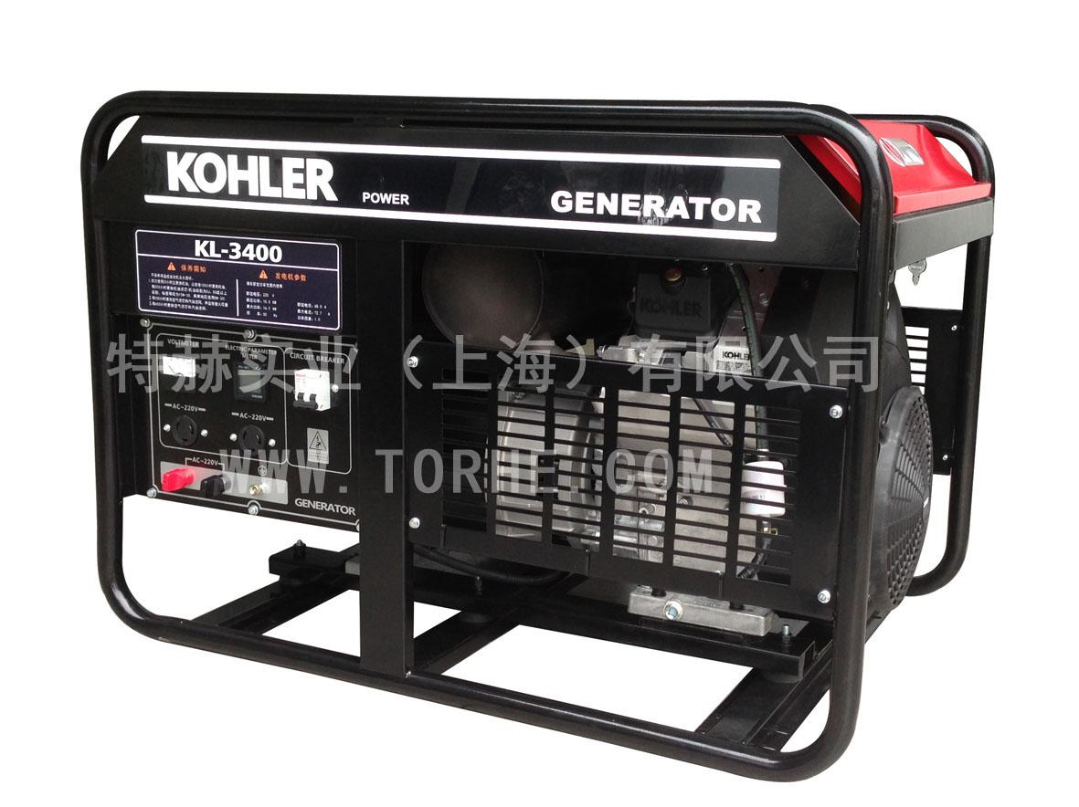 20千瓦大功率汽油发电机组 三相380V美国科勒动力 KL-3400