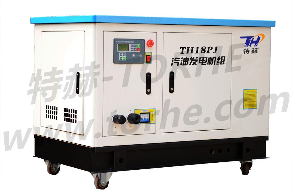 18KW静音推车式发电机组 可选配汽油、天然气、液化石油气、