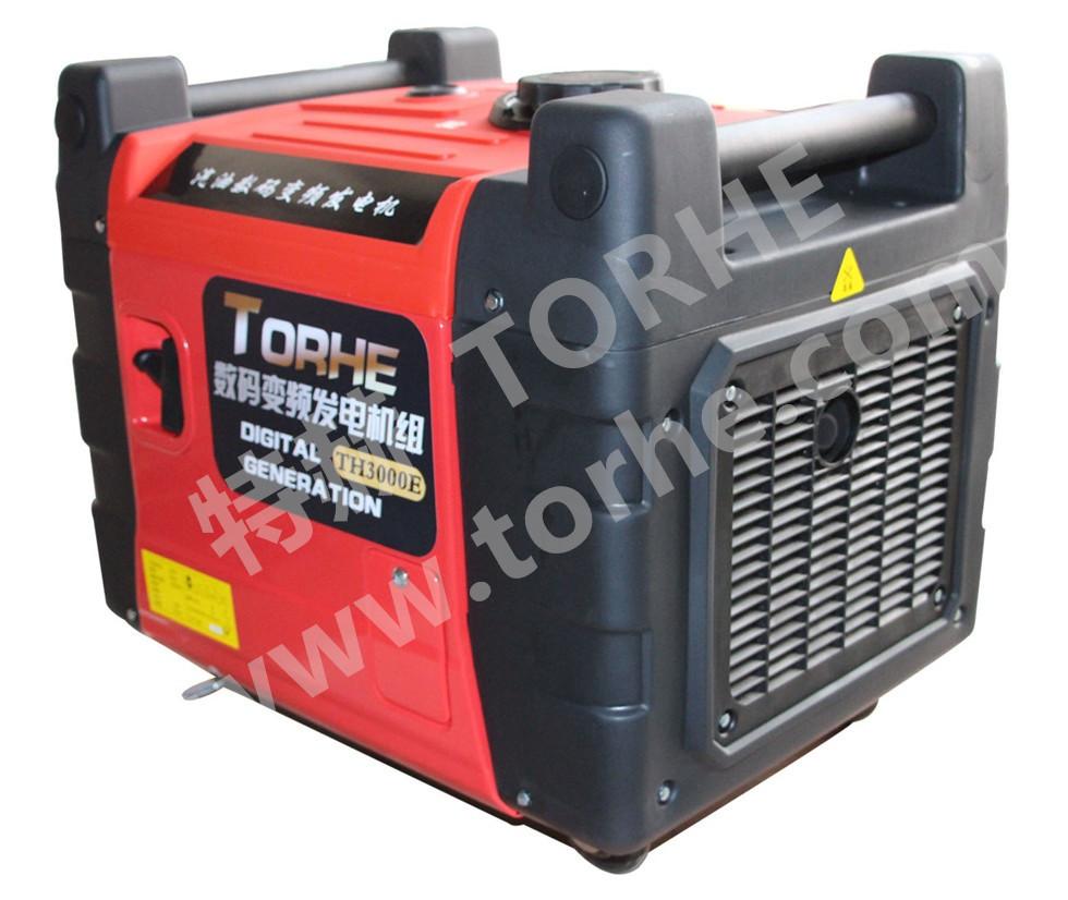 3KW微型静音数码变频发电机,房车改装车载汽油发电机 遥控启