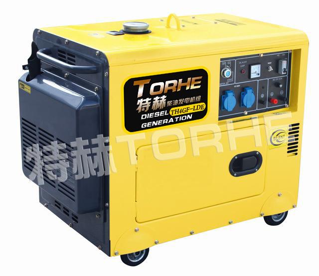 4千瓦单相静音式电启动风冷柴油发电机组
