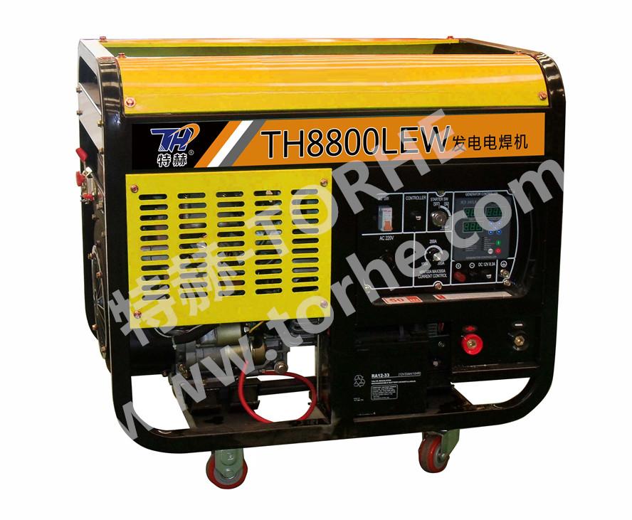 300A电启动柴油发电电焊两用机组,可焊接6.0焊条