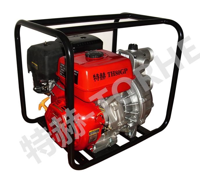 3寸汽油高压水泵机组,80米
